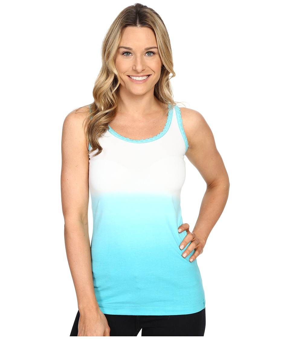 Woolrich - Huckleberry Hills Dip Dye Tank (Peacock Blue) Women's Sleeveless