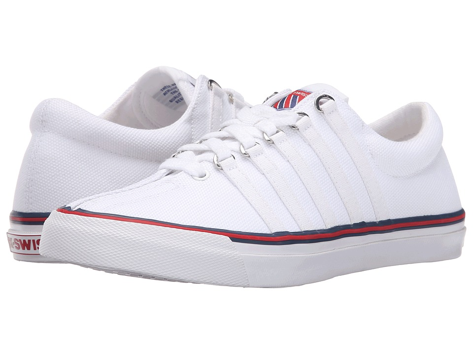K-Swiss - Surf 'N Turf OG 50thtm (50th/White/Classic Blue/Ribbon Red Canvas) Women's Shoes
