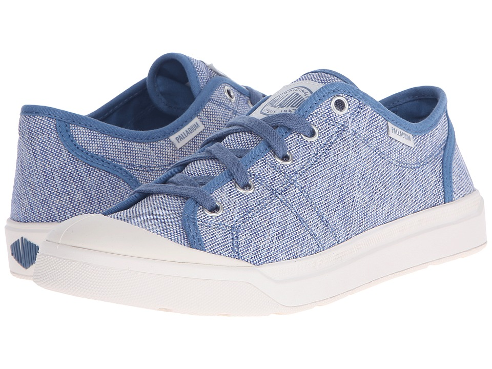 Palladium - Pallarue TX (Coronet Blue/Marshmallow) Women's Lace up casual Shoes