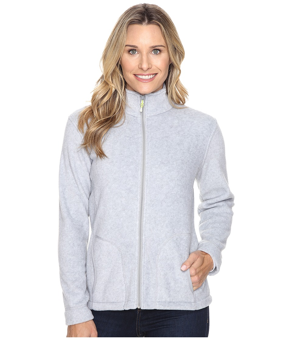 Woolrich - Andes Fleece Jacket (Lt Gray Heather) Women's Coat