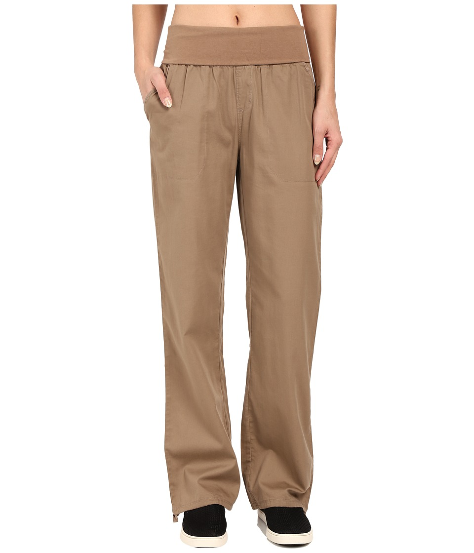 Woolrich - Perfect Way Tencel Pants (Faded Teak) Women's Casual Pants
