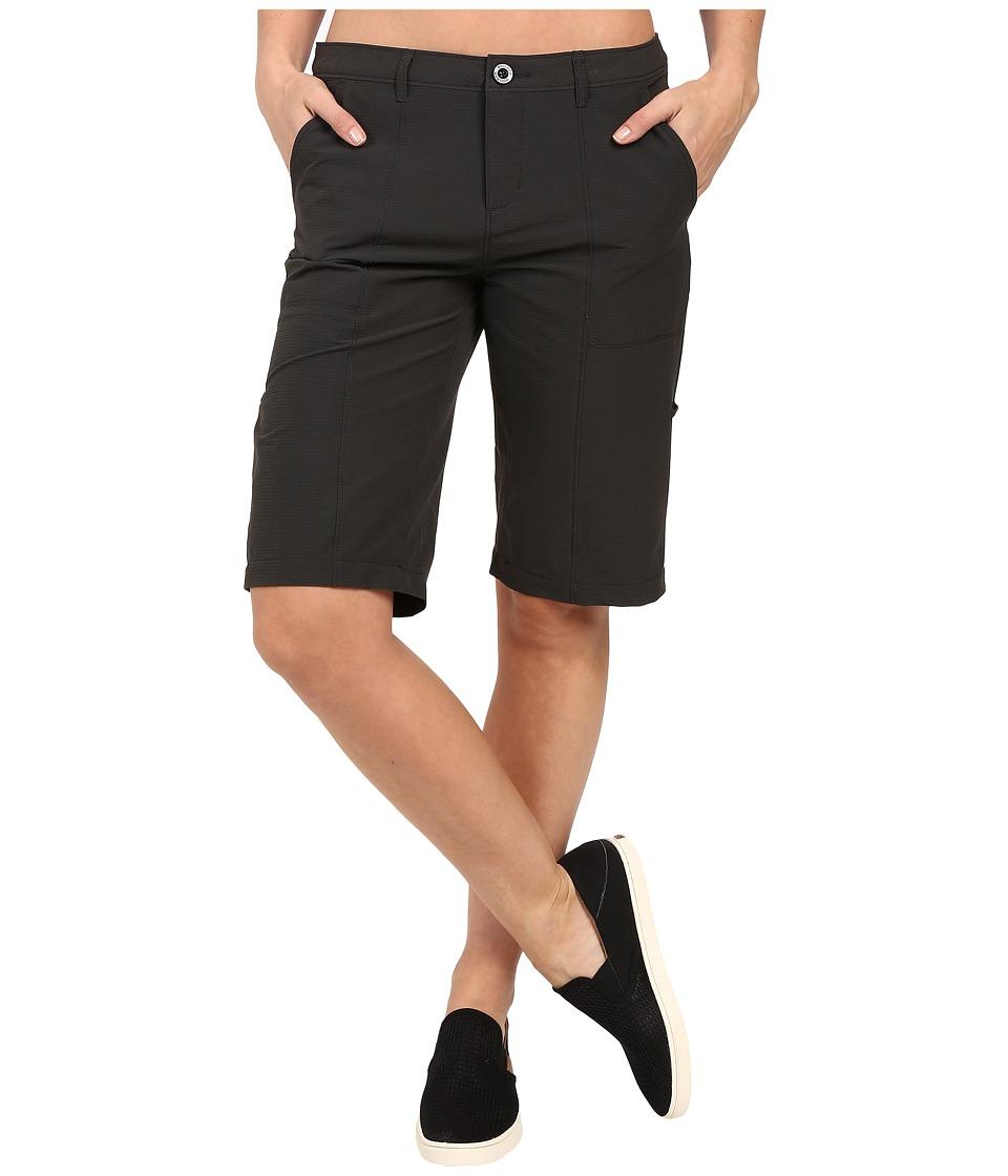 Woolrich - Rock Line Ripstop Shorts (Asphalt) Women's Shorts