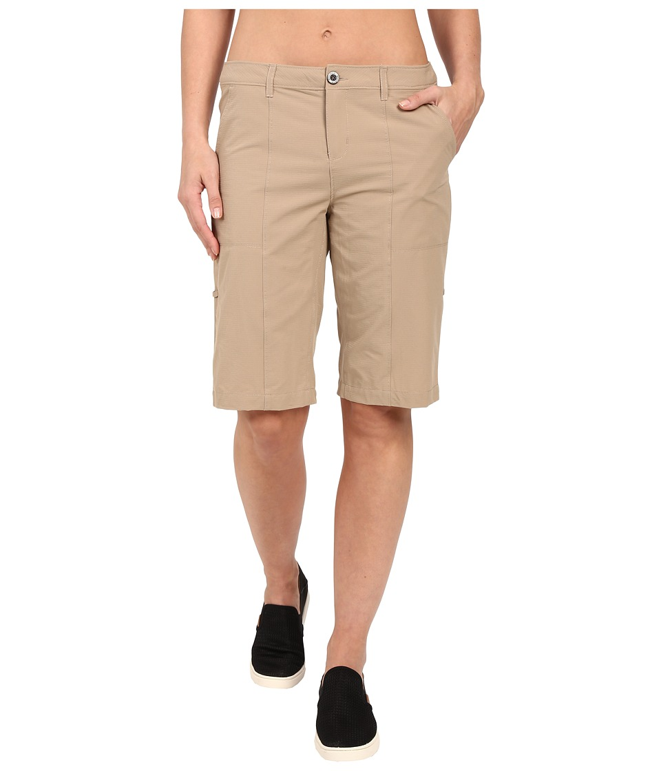 Woolrich - Rock Line Ripstop Shorts (Warm Khaki) Women's Shorts