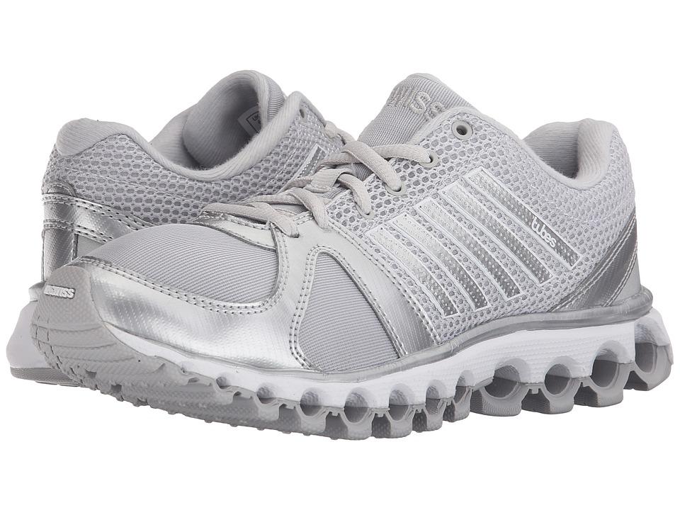 K-Swiss - X-160 Tubes (Lunar Rock/Silver Metallic) Women's Cross Training Shoes