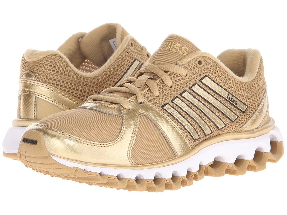 K-Swiss - X-160 Tubes (Prairie Sand/Spun Gold Metallic) Women's Cross Training Shoes