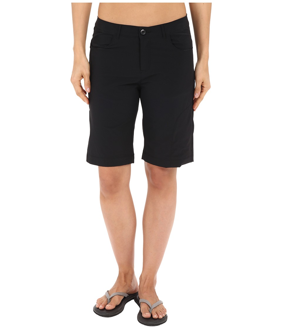 Woolrich - Geo Long Shorts (Black) Women's Shorts