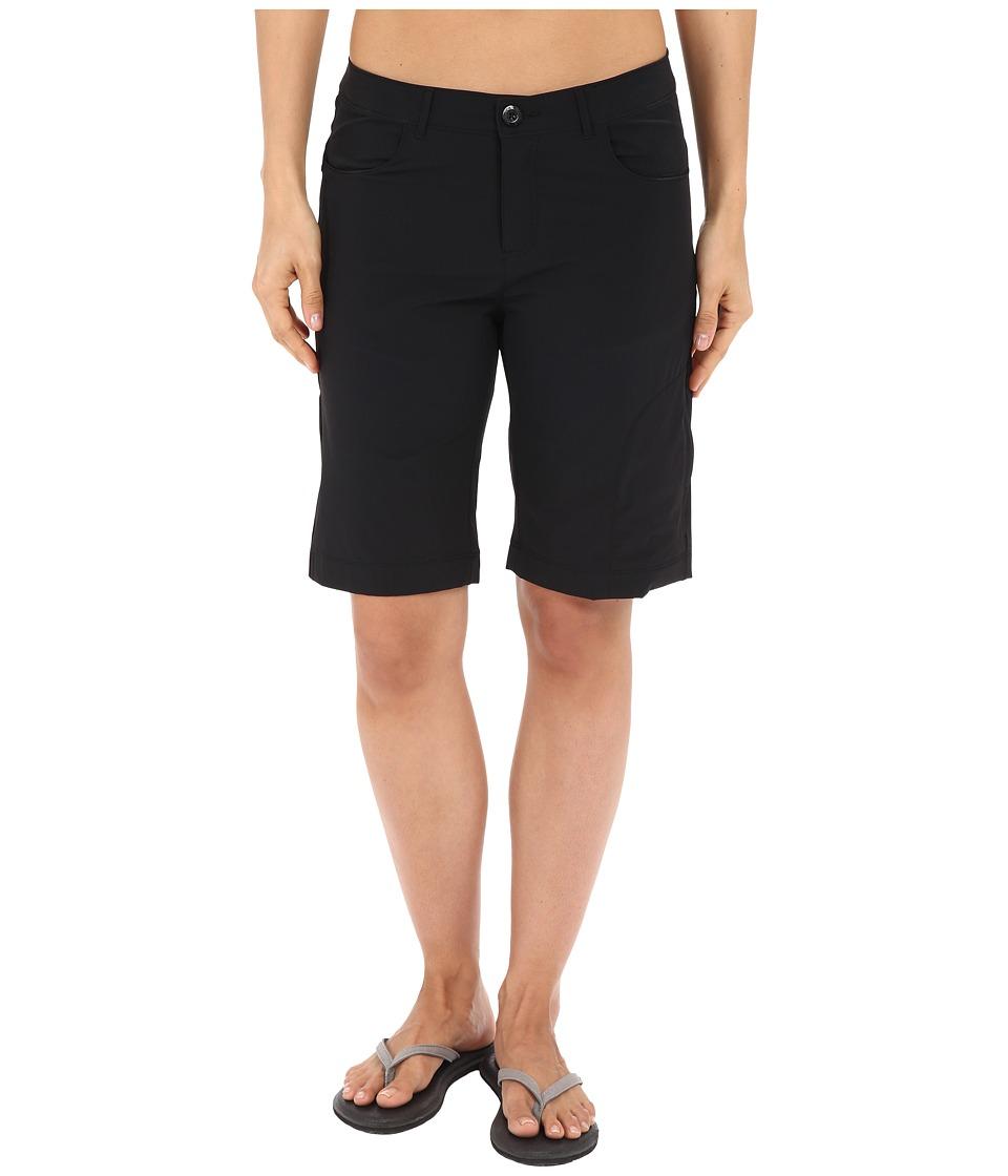 Woolrich - Geo Long Shorts (Black) Women's Shorts