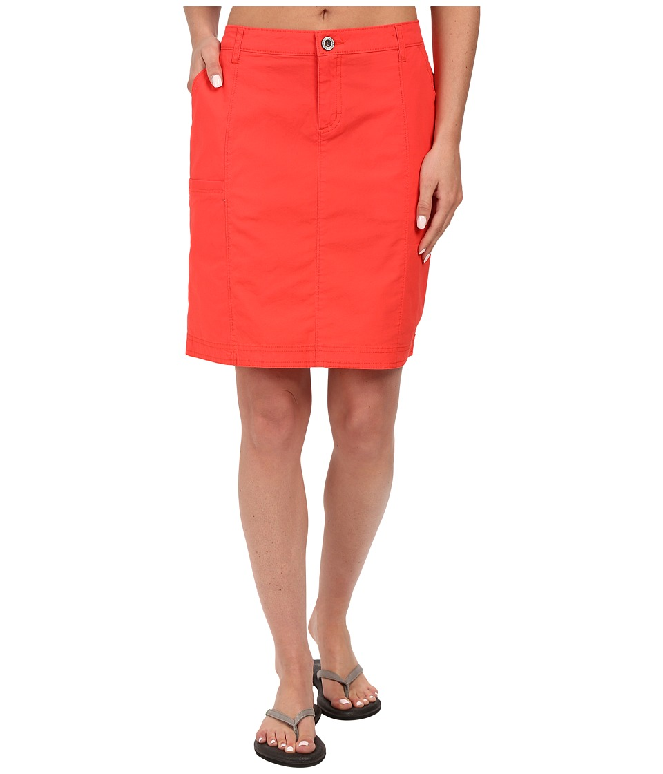 Woolrich Laurel Run II Skirt (Hot Guava) Women