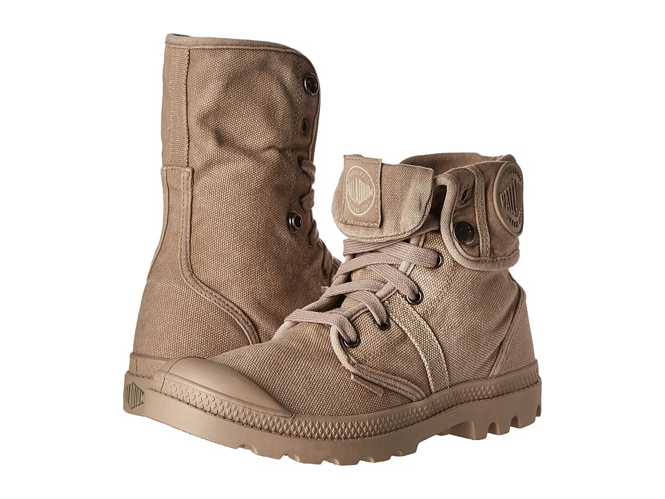 Palladium - Pallabrouse Baggy (Stucco/Cobblestone) Women's Boots