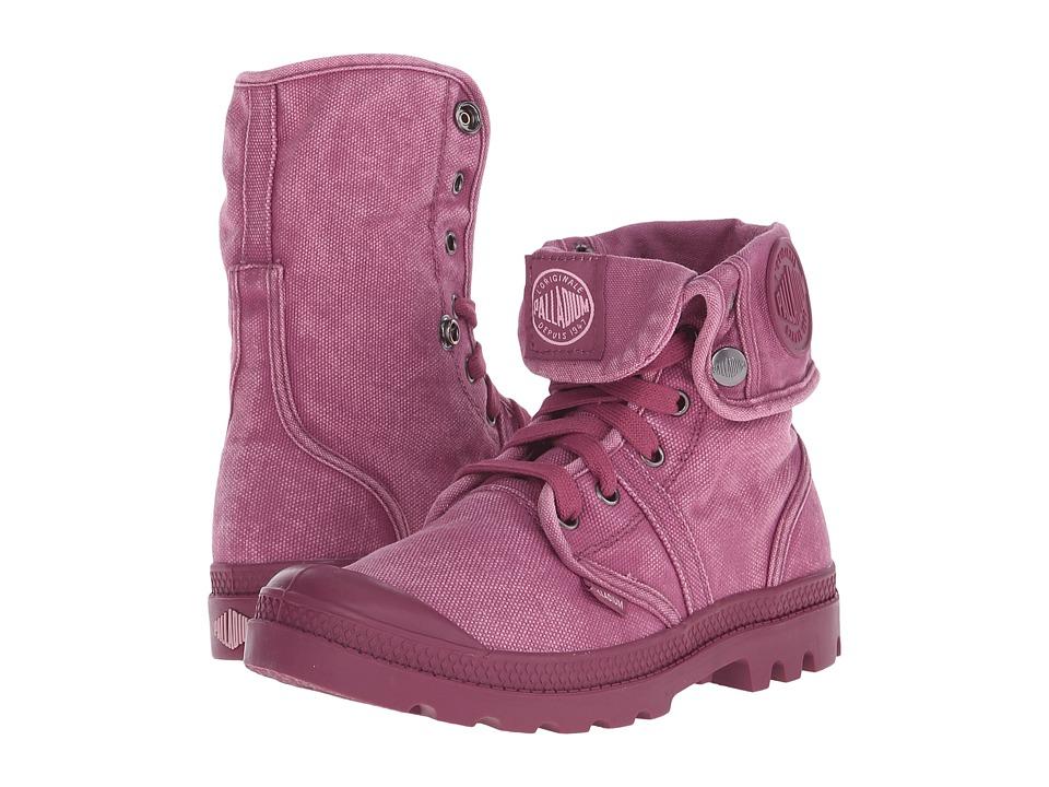 Palladium - Pallabrouse Baggy (Roan Rouge/Pale Mauve) Women's Boots