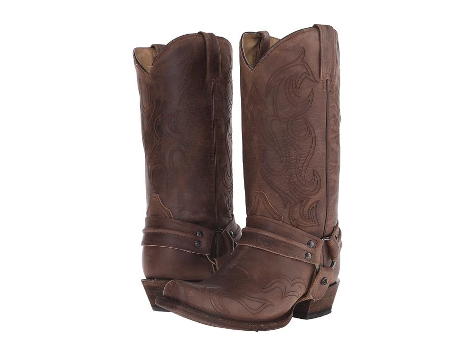 Roper - Hurricane Bandit (Brown) Cowboy Boots