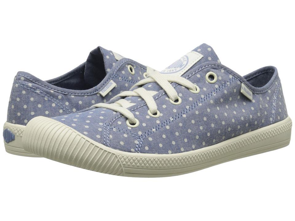 Palladium - Flex Lace PD (Blue/Antique White/Polka Dots) Women's Shoes