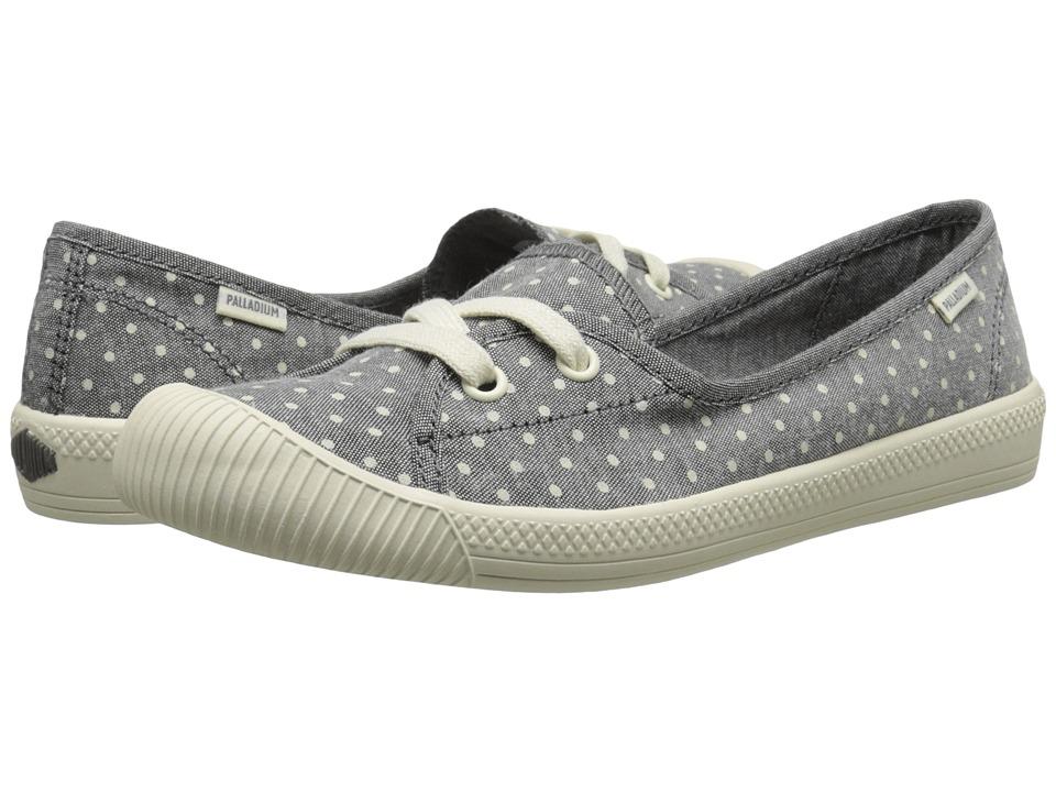 Palladium - Flex Ballet PD (Gray/Antique White/Polka Dots) Women's Shoes