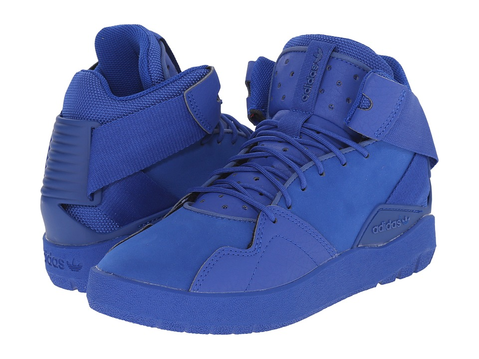 adidas Originals Kids - Crestwood Mid J (Big Kid) (Collegiate Royal/Collegiate Royal/Collegiate Royal) Boys Shoes