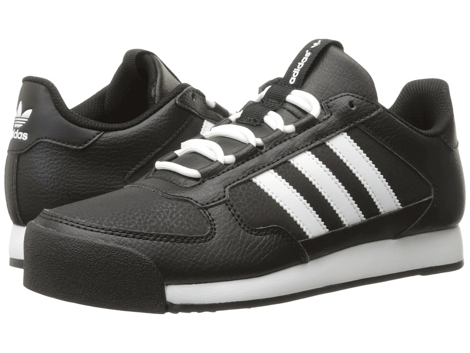 adidas Originals Kids - Samoa Runner J (Big Kid) (Black/White/White) Boys Shoes