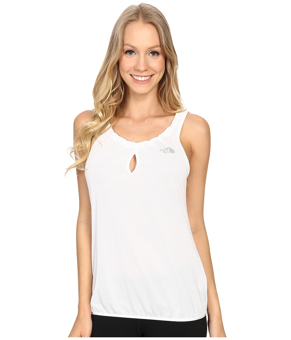 The North Face - Savvy Mesh Tank Top (TNF White) Women's Sleeveless