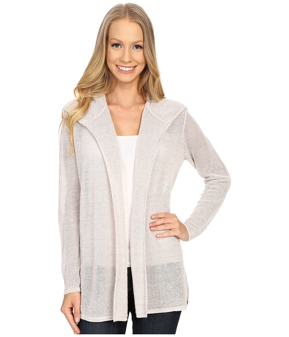 Woolrich - Fairwood Hooded Cardigan (Silver Gray Multi) Women's Sweater