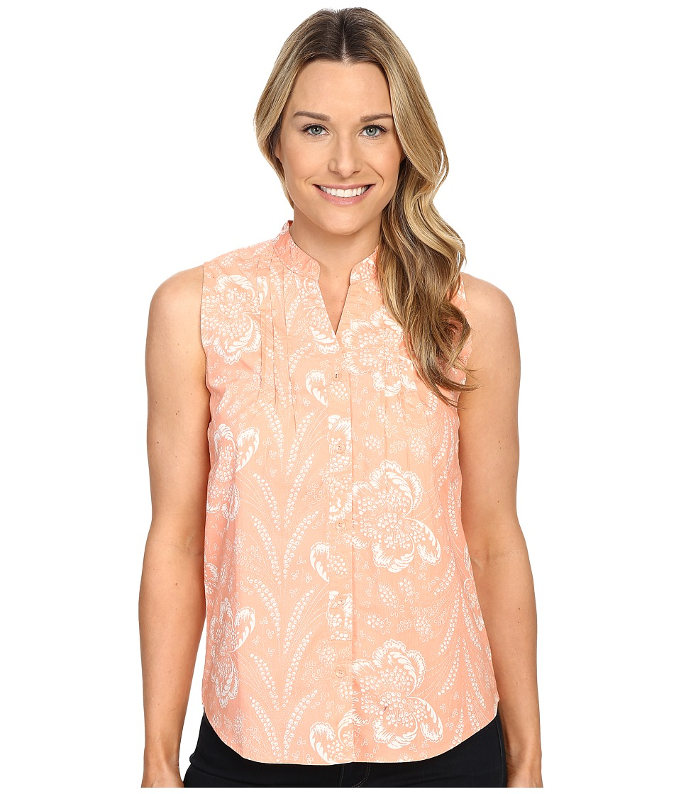 Woolrich - Twin Lakes Printed Shirt (Shell Floral) Women's Sleeveless