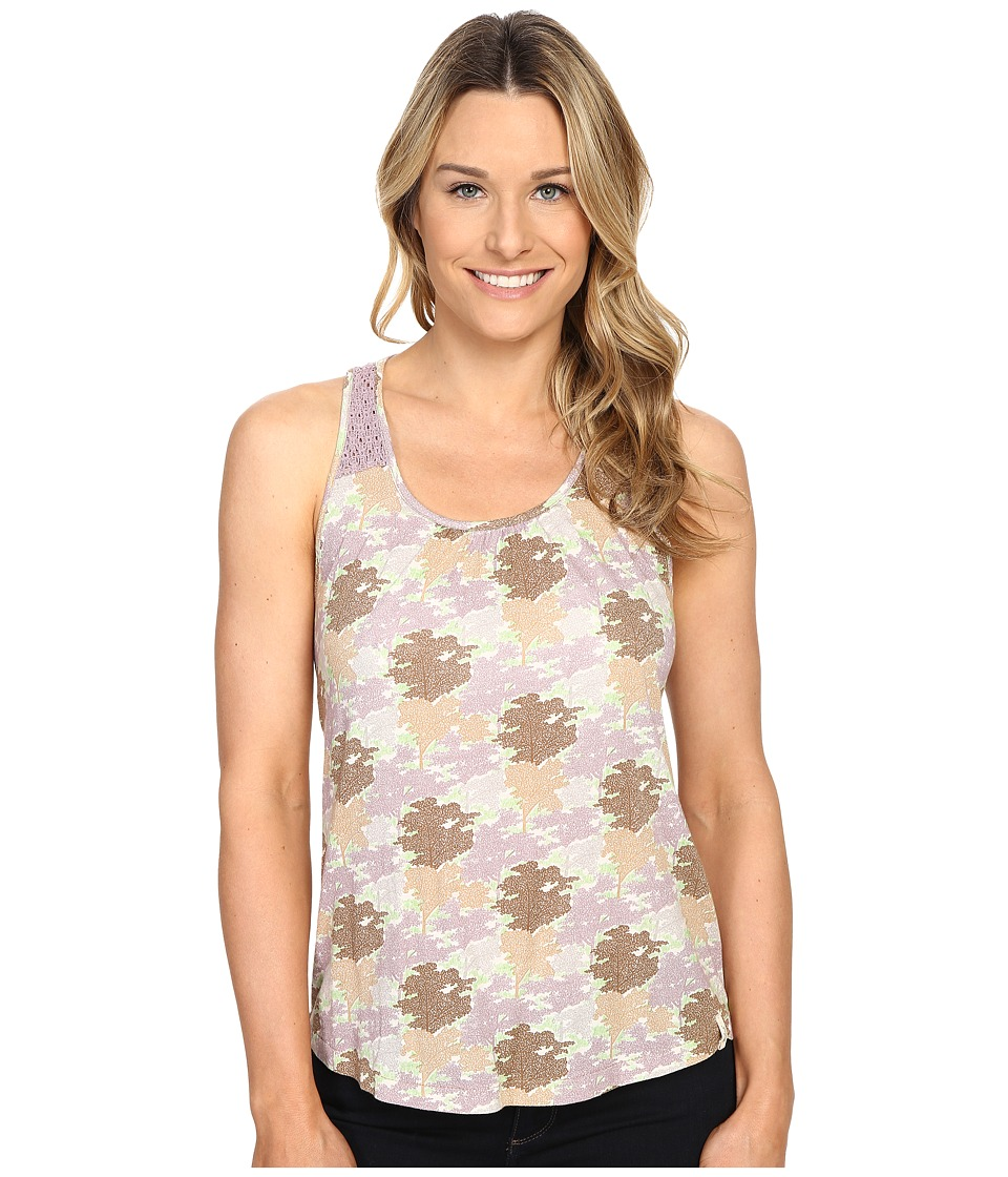 Woolrich - Meadowlark Crochet Printed Tank (Dusty Violet) Women's Sleeveless
