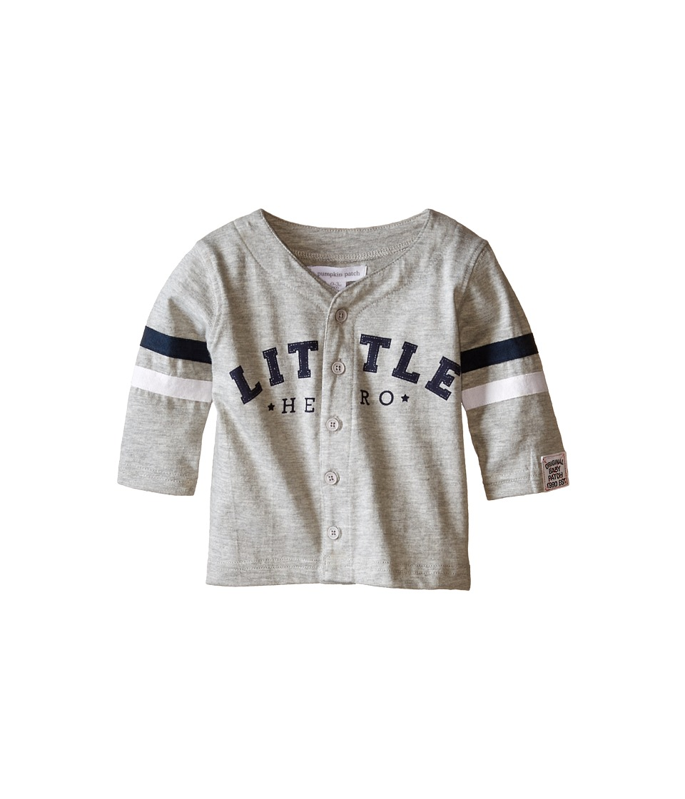 Pumpkin Patch Kids - Little Hero Top (Infant) (Metal Marle) Boy