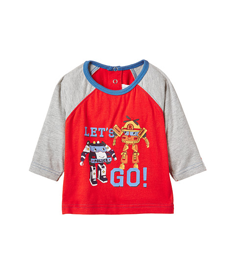 Pumpkin Patch Kids - Ready to Play Top (Infant) (Hot Rod Red) Boy