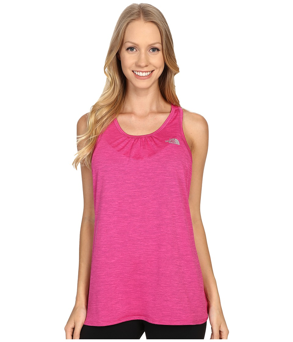 The North Face - Initiative Tank Top (Raspberry Rose Heather) Women's Sleeveless