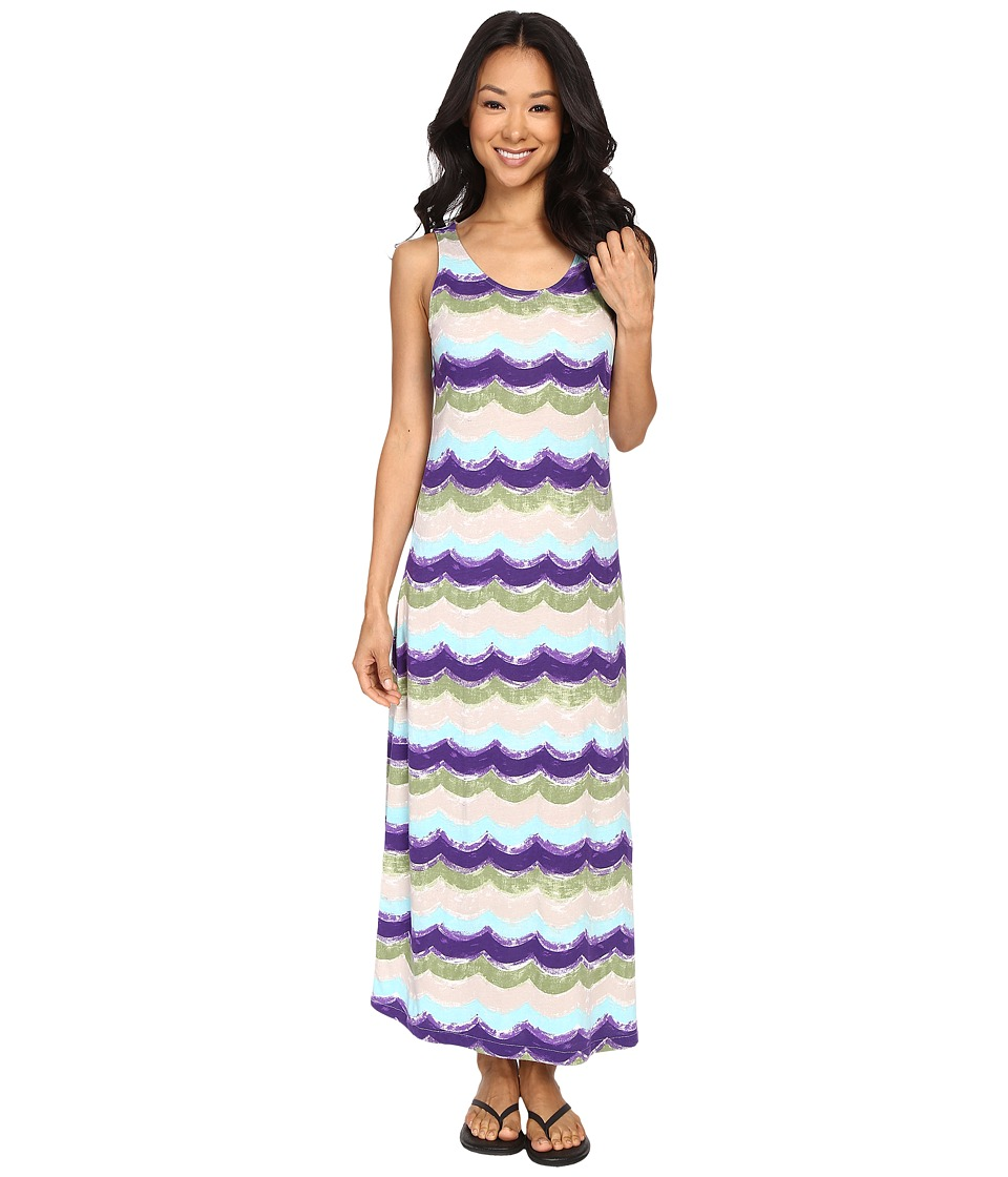 Woolrich - Garden Grove Printed Midi Dress (Pistachio Multi) Women's Dress