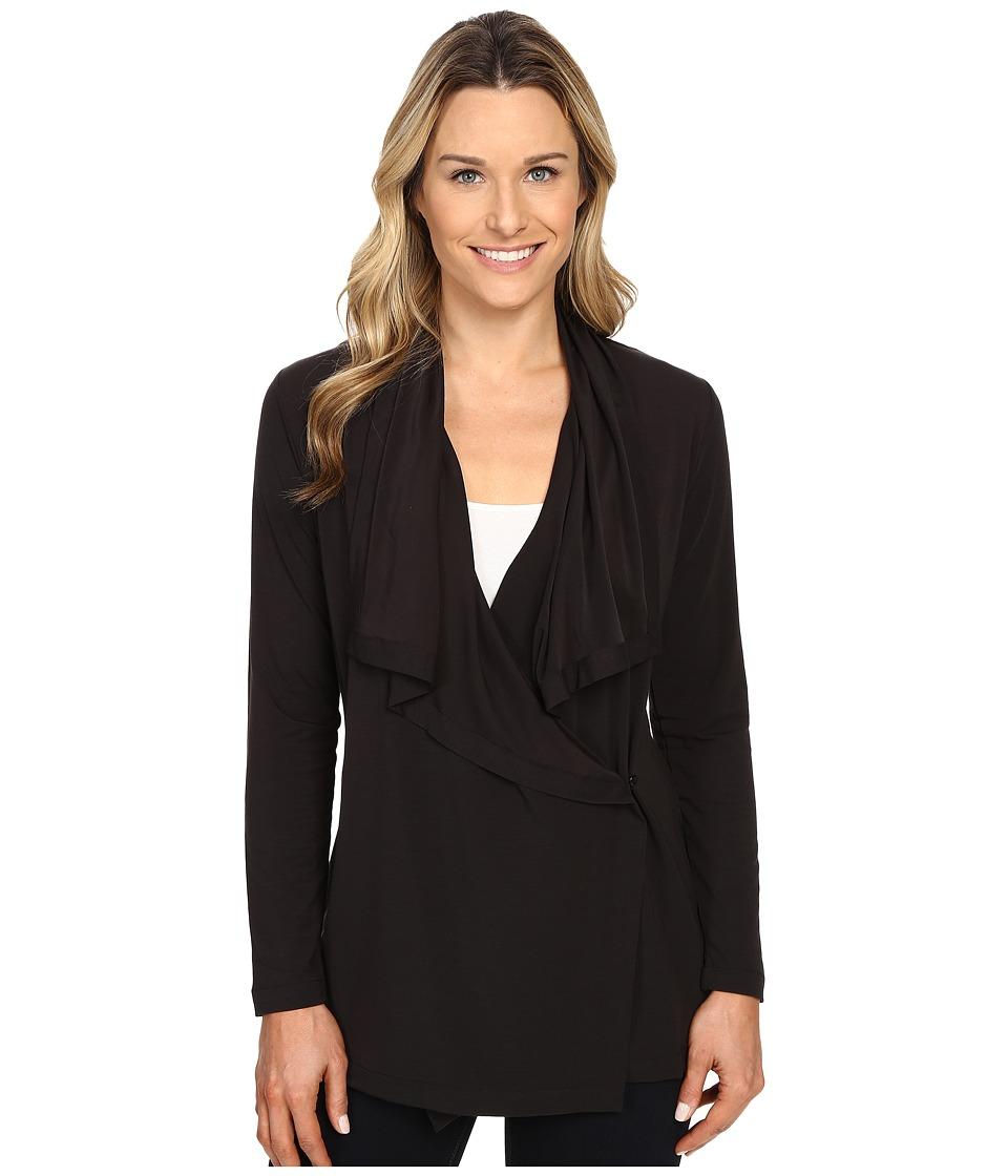 Woolrich - Rendezvous Open Front Cardigan (Black) Women's Sweater