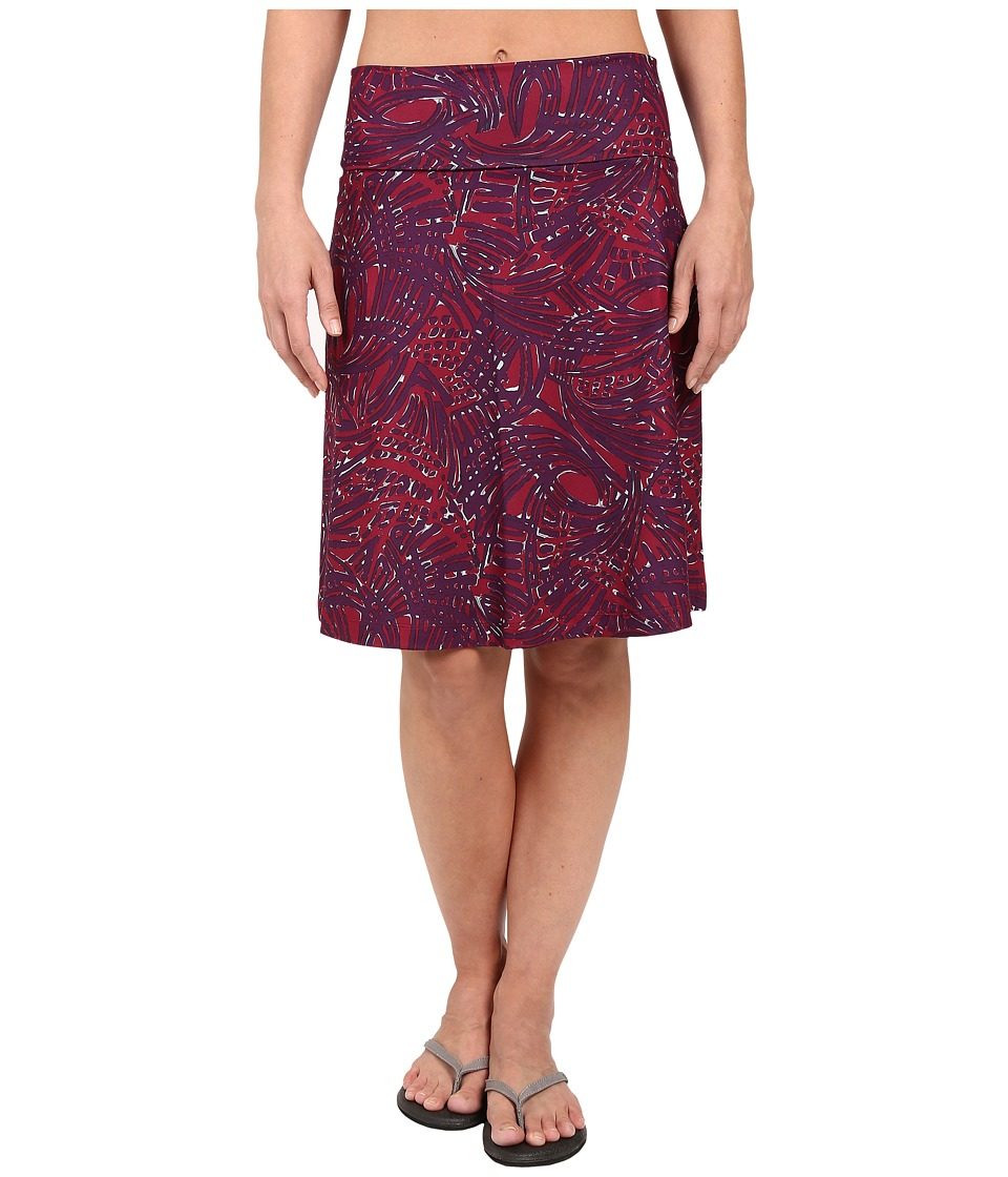 Woolrich Rendezvous Printed Skirt (Wildberry) Women
