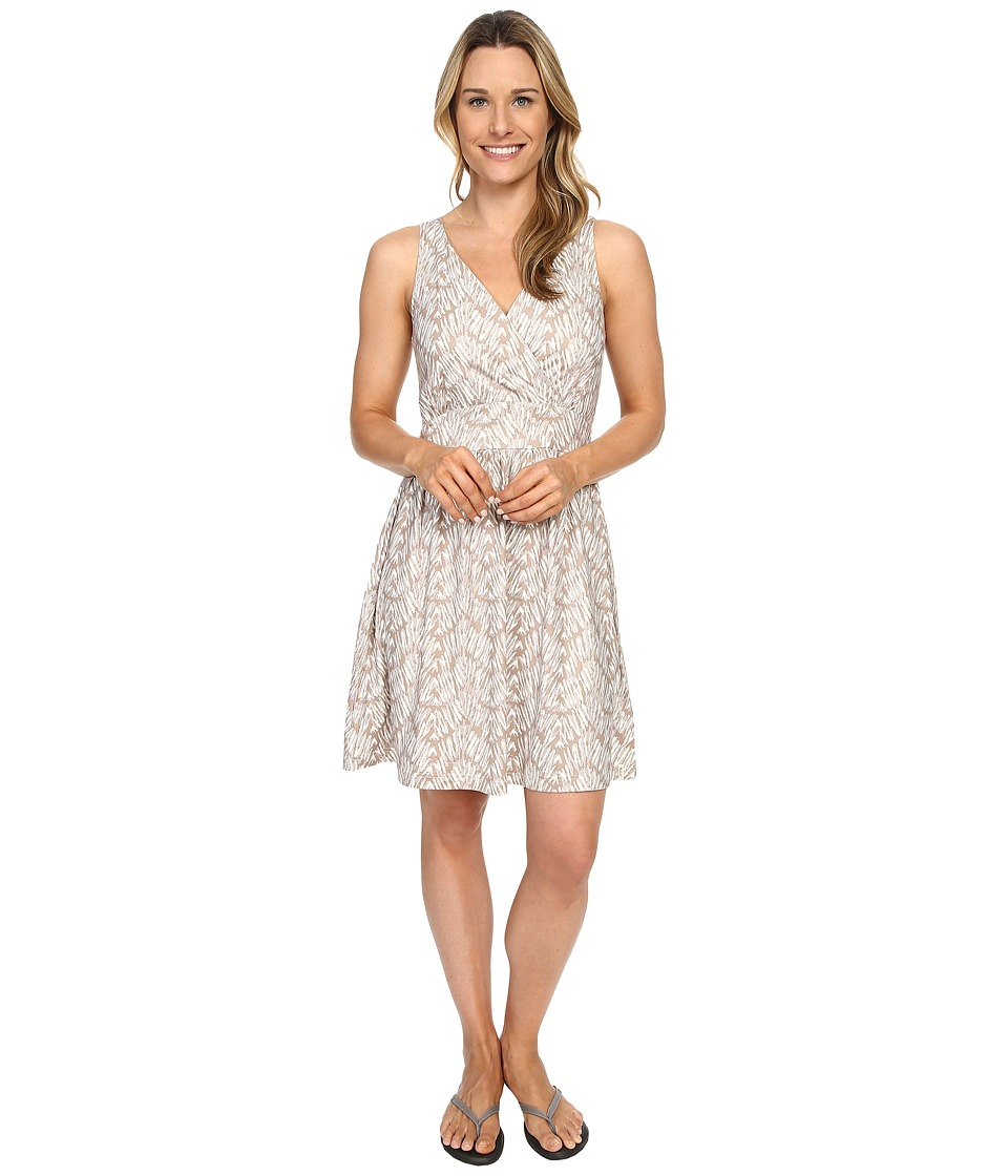 Woolrich - On The Way Printed Dress (Silver Gray) Women's Dress