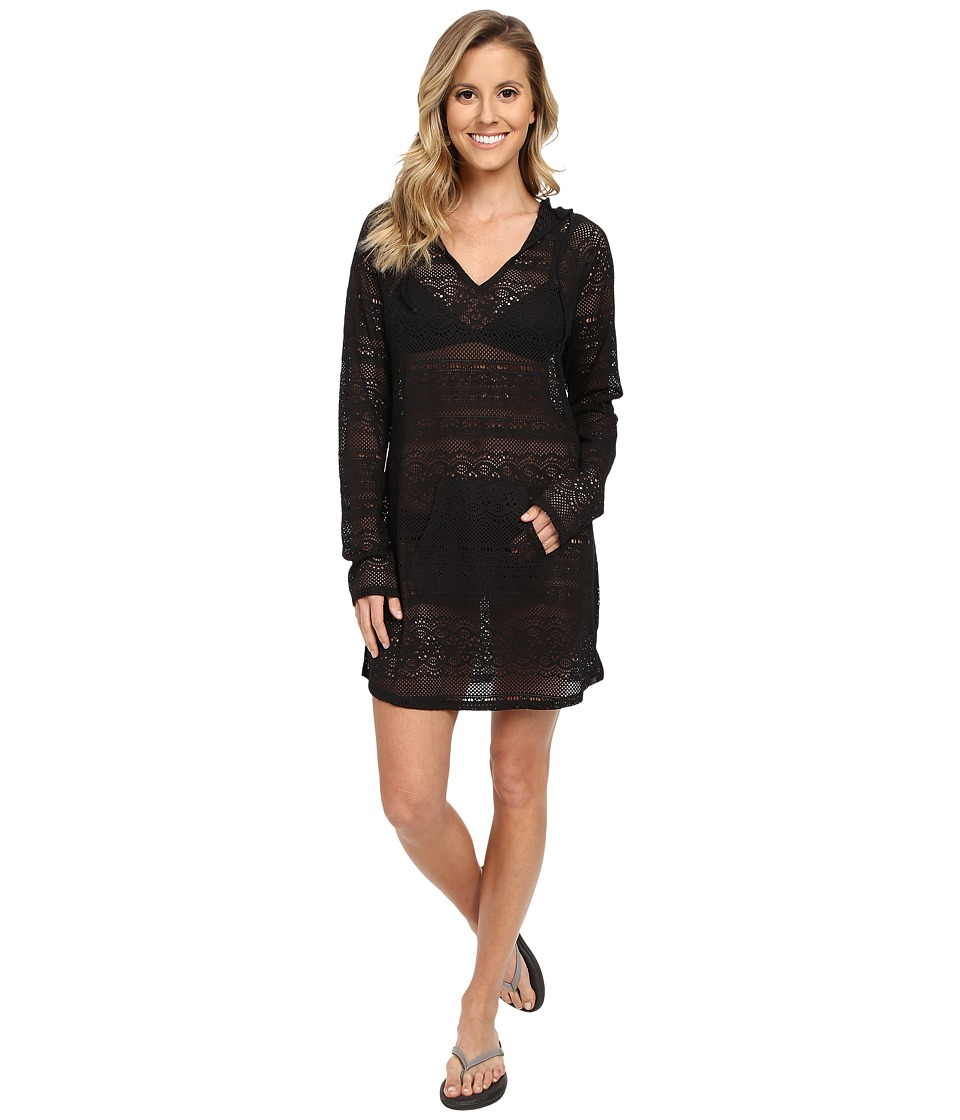 Prana - Luiza Tunic Cover Up (Black) Women's Swimwear