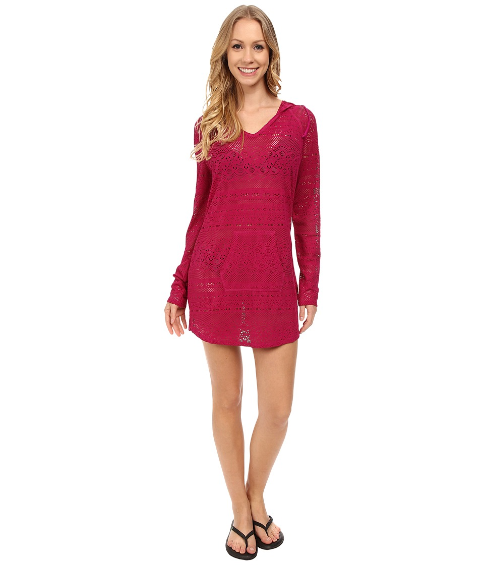 Prana - Luiza Tunic Cover Up (Rich Fuchsia) Women's Swimwear