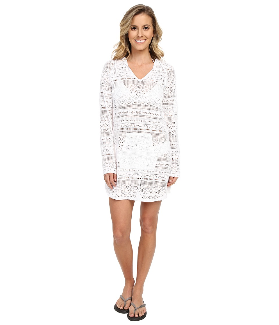 Prana - Luiza Tunic Cover Up (White) Women's Swimwear