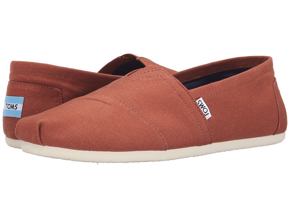 TOMS - Classic Canvas (Picante Red Canvas) Men's Flat Shoes