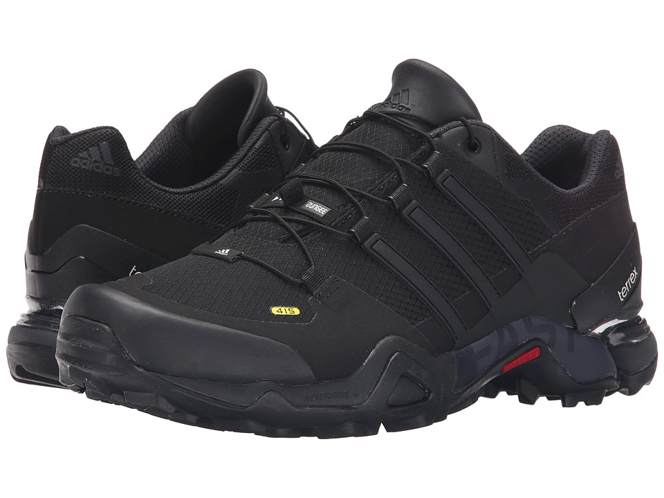 adidas Outdoor - Terrex Fast R (Black/Dark Grey/Chalk White) Men's Shoes