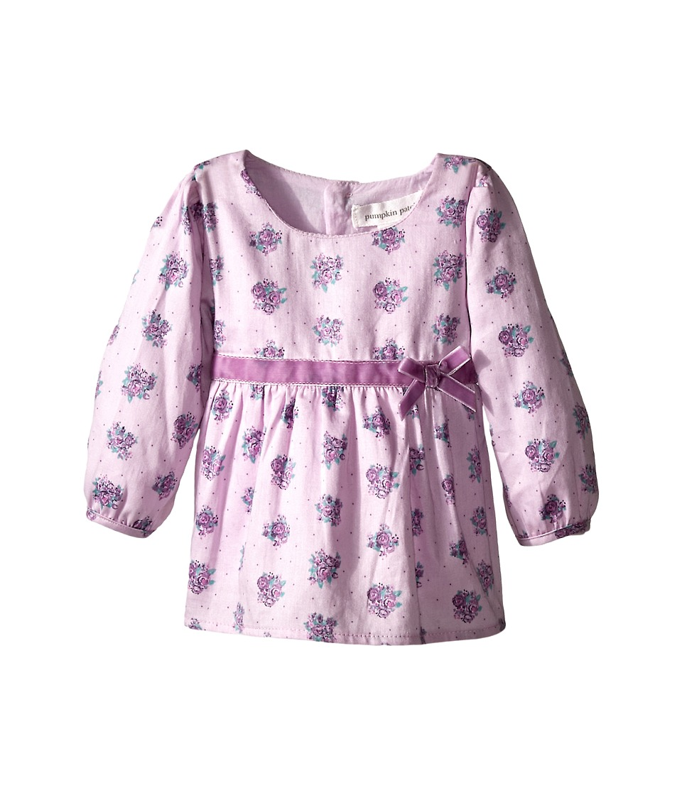 Pumpkin Patch Kids - Finding Anastasia Rose Print Top (Infant) (Lupin) Girl