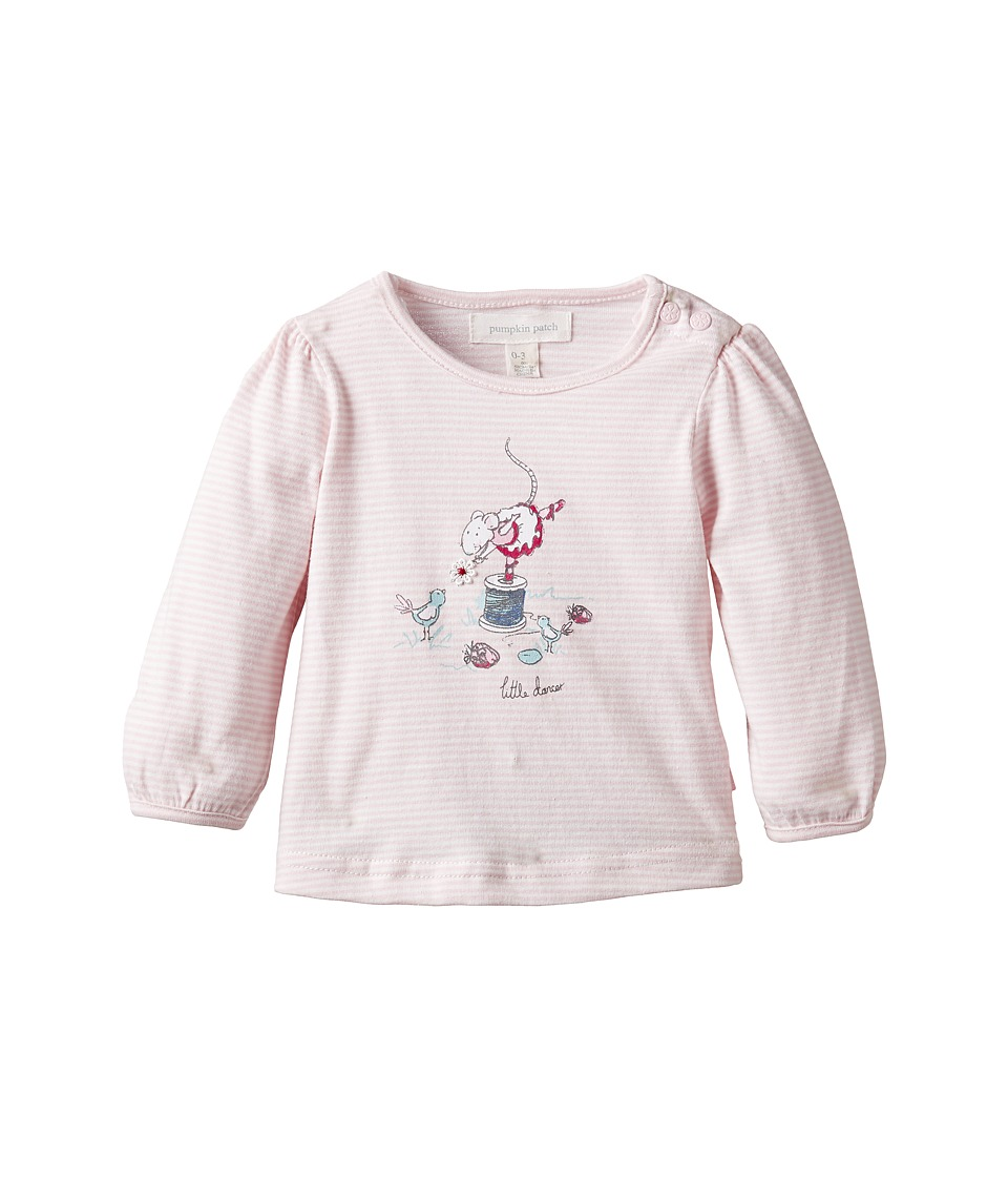 Pumpkin Patch Kids - Dance Academy Pretty Print Top (Infant) (Orchid Pink) Girl's Clothing