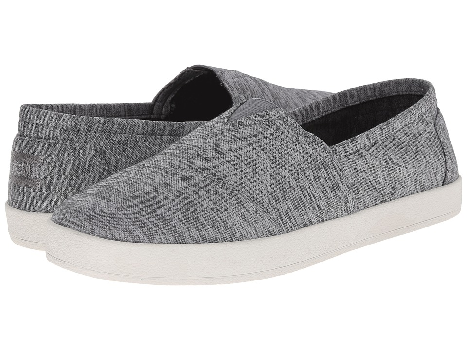 TOMS Avalon Sneaker (Frost Grey Heather Jersey) Men