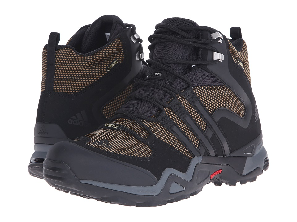 adidas Outdoor - Fast X High GTX (Earth/Black/Vista Grey) Men's Shoes