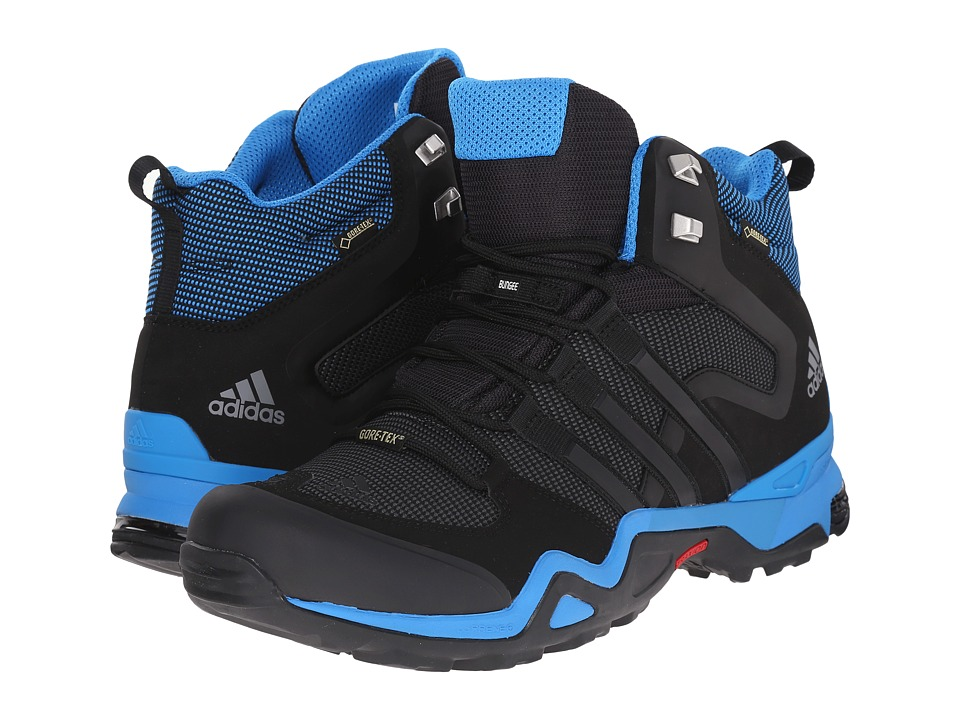 adidas Outdoor - Fast X High GTX (Dark Grey/Black/Vista Grey) Men's Shoes