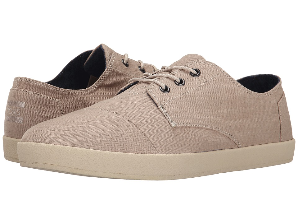 TOMS - Paseo (Oxford Tan Herringbone) Men's Lace up casual Shoes