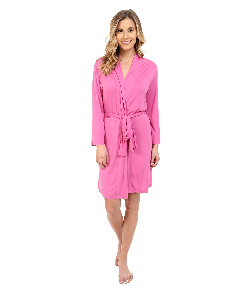 Natori - Feathers Robe (Bloom Pink) Women's Robe