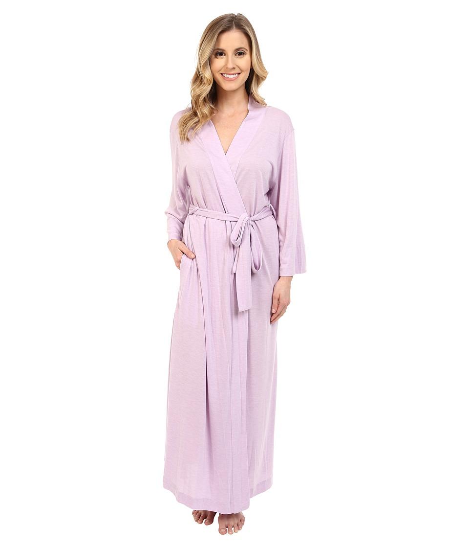 Natori - Shangri-La Robe (Lilac) Women's Robe