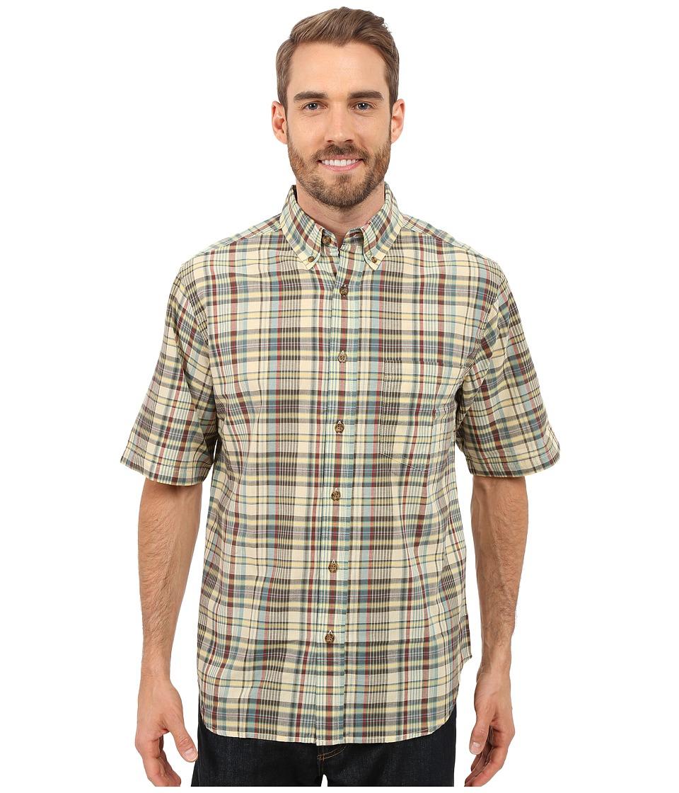 Woolrich Timberline S-S Shirt Vanilla Mens Short Sleeve Button Up
