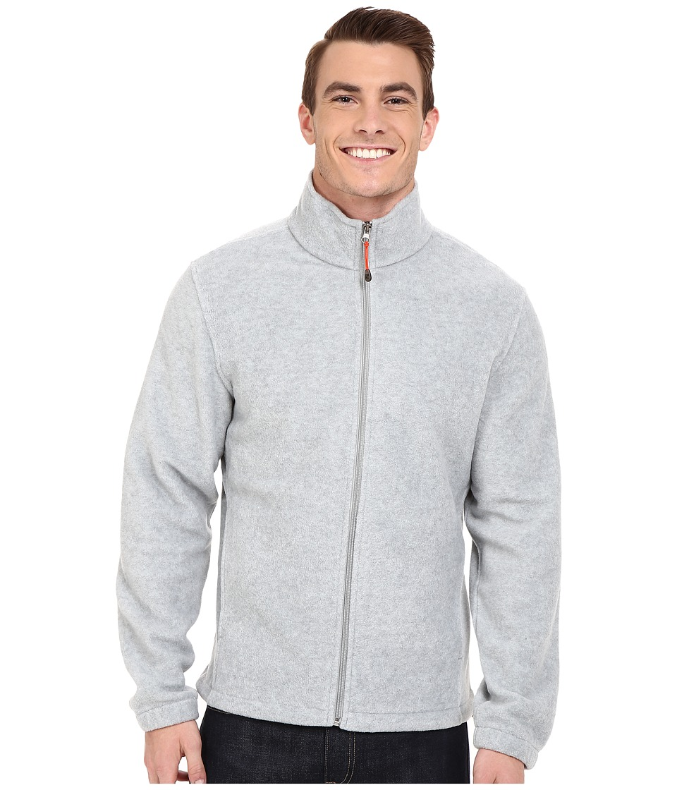 Woolrich - Andes II Fleece Jacket (Lt Grey Heather) Men's Coat