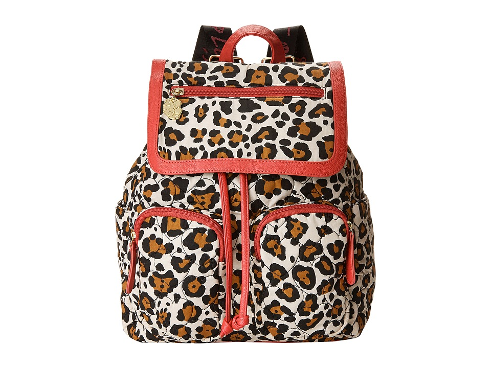 Luv Betsey - Karry Backpack (Leopard) Backpack Bags