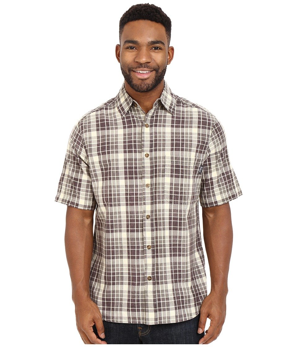 Woolrich - Red Creek S/S Shirt (Field Gray) Men's Short Sleeve Button Up