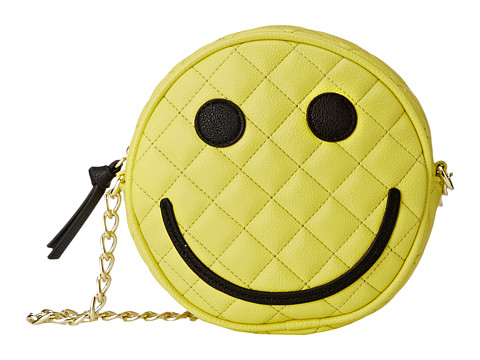 Luv Betsey - Smiles Kitch Crossbody (Yellow) Cross Body Handbags