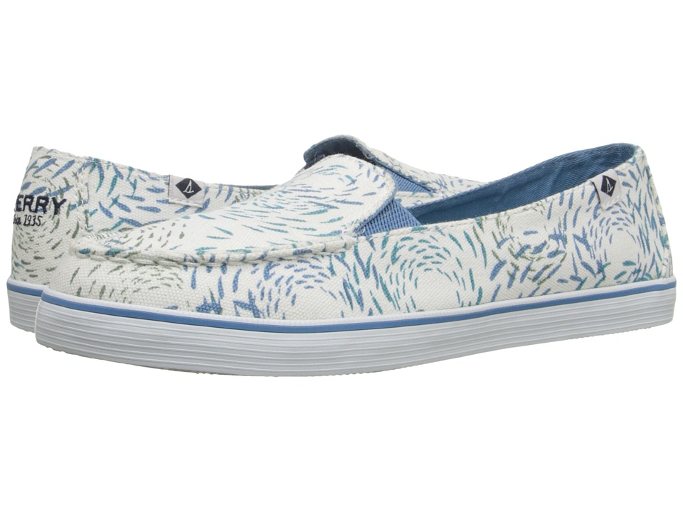 Sperry - Zuma Fish Circle (Medium Blue) Women's Slip on Shoes