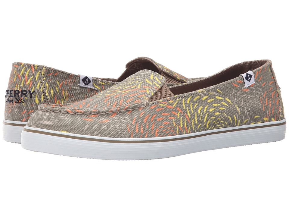 Sperry - Zuma Fish Circle (Taupe) Women's Slip on Shoes